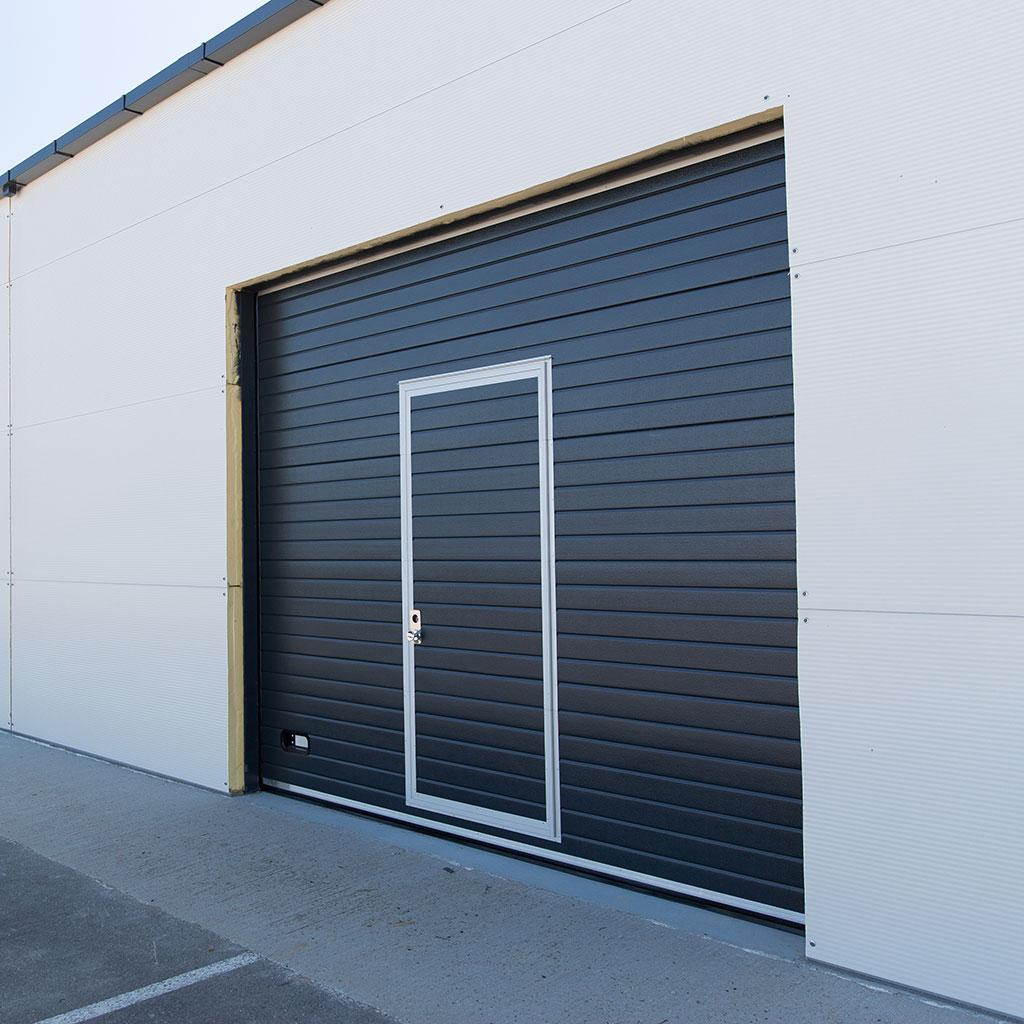 Portes sectionnelles 4m fermetures - Porte de garage 4m ...